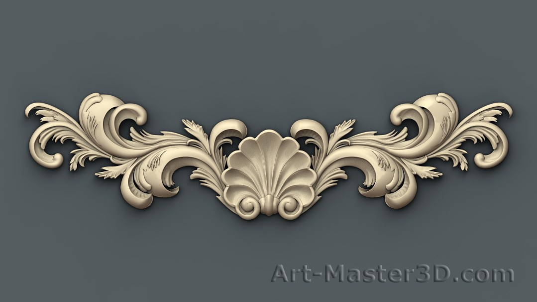 Stl 009 for 3d model decoration